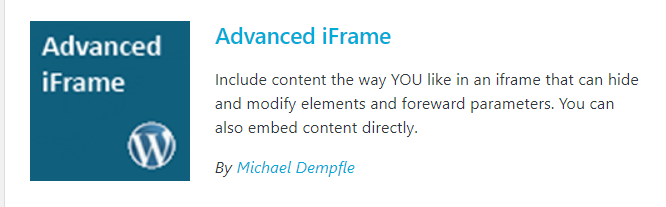 advanced iframe for affiliate marketing